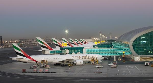 مطار دبي، أكثر من 65.4 مليون راكب