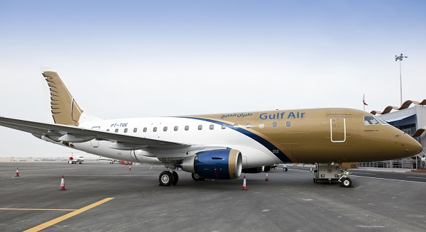 طيران الخليج تطلق أول رحلة إلى مطار آل مكتوم الدولي