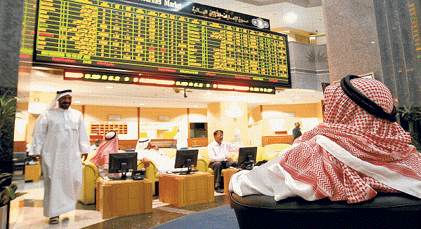 انخفاض اسهم أسواق دبي وأبو ظبي