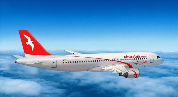صافي أرباح العربية للطيران يرتفع إلى 75 مليون درهم اماراتي