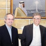 Bill Gates, co-chair of the Bill and Melinda Gates Foundation, expressed willingness to collaborate with King Abdullah University of Science and Technology (KAUST) in research projects focusing on agriculture and food production.