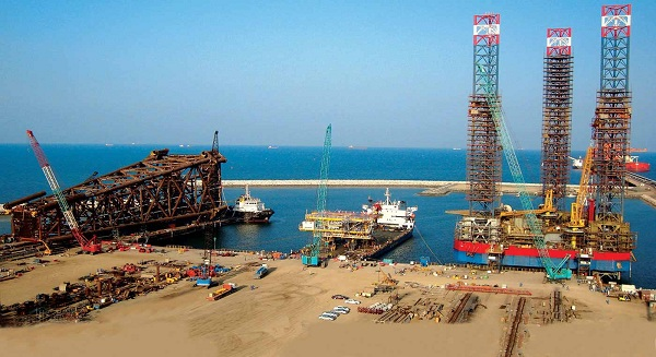 Huge modules made by L&T Oman's Sohar facility