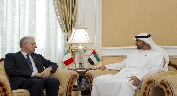 العلاقات التجارية بين الإمارات وإيطاليا في الاتجاه الصحيح