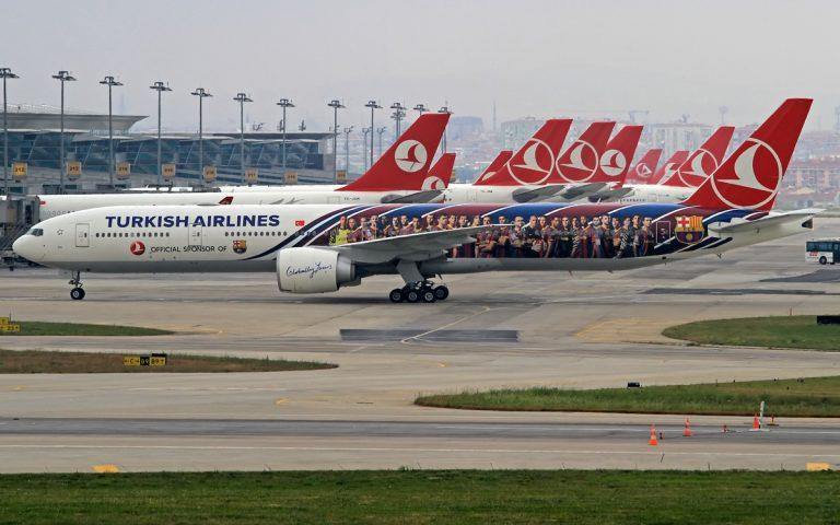 النمو المتسارع للخطوط الجوية التركية تدخلها خط المنافسة لنضرائها في الخطوط الجوية الخليجية