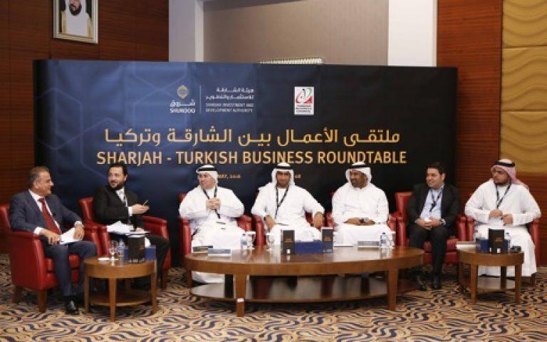 تعزيز مناخ التعاون والأستثمار بين الشارقة وتركيا