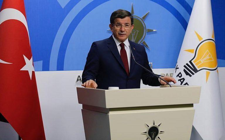 رئيس الوزراء التركي أحمد داود أوغلو نهاية القيادة