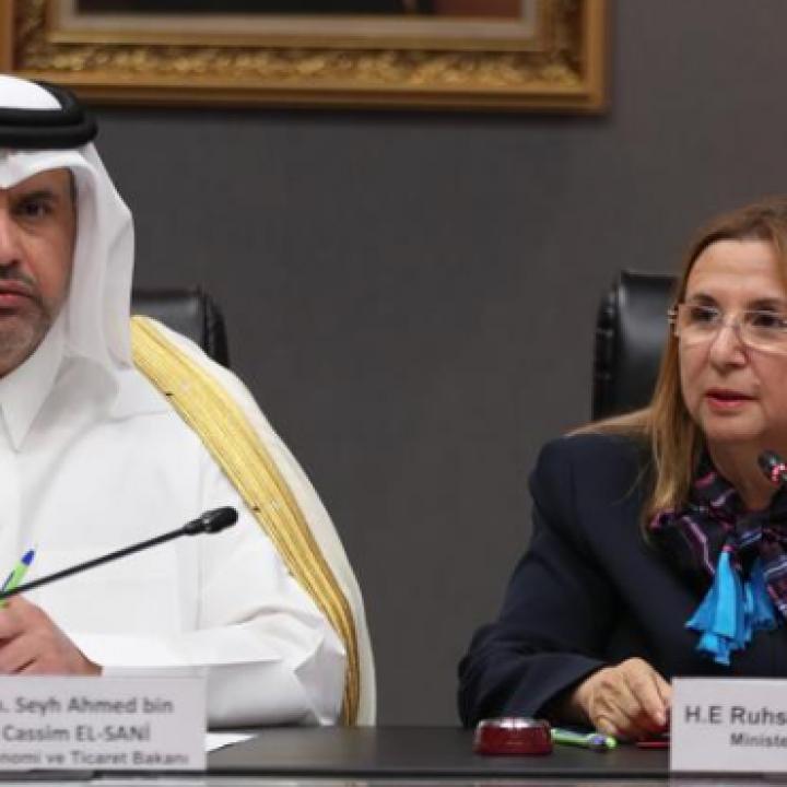 Turkey, Qatar sign economic partnership agreement