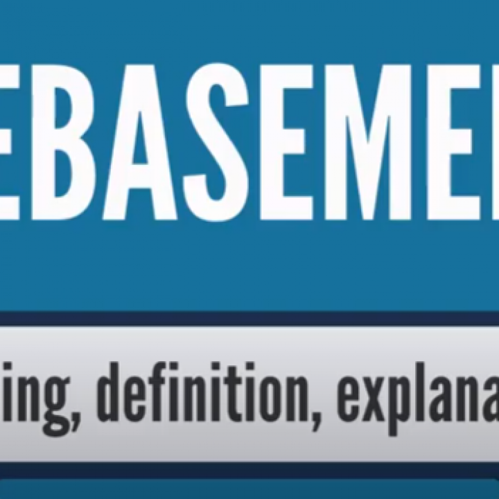What is DEBASEMENT? What does DEBASEMENT mean? DEBASEMENT meaning, definition & explanation